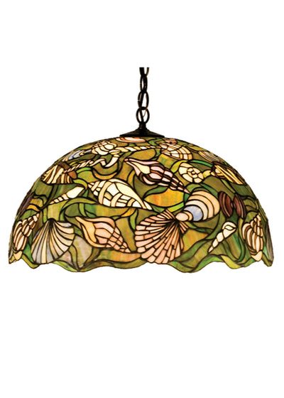 "Meyda Lighting 47977 20""W Seashell Pendant"