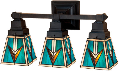 "Meyda Lighting 48042 20""W Valencia Mission 3 LT Vanity Light"