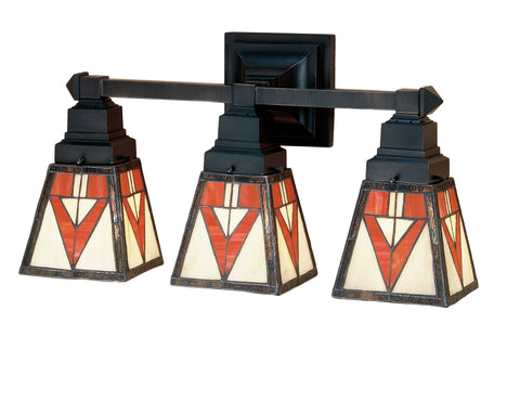 "Meyda Lighting 48044 18""W Otero Mission 3 LT Vanity Light"