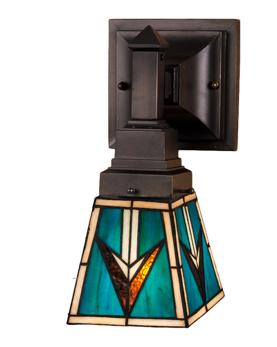 "Meyda Lighting 48181 5""W VALENCIA Mission Wall Sconce"