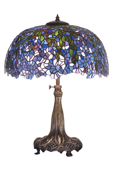 "Meyda Lighting 50009 29""H Tiffany Laburnum Table Lamp"