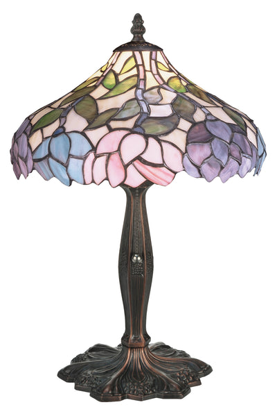 "Meyda Lighting 52134 17""H Wisteria Accent Lamp"