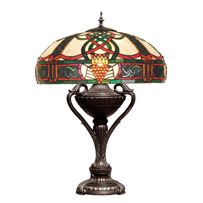 "Meyda Lighting 52290 27""H Claddagh Table Lamp"
