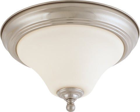 Nuvo Lighting 60/1824 Dupont 1 Light 11 Inch Flush Mount with Satin White Glass