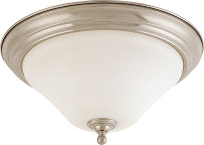 Nuvo Lighting 60/1826 Dupont 2 Light 15 Inch Flush Mount with Satin White Glass