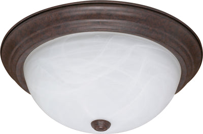 Nuvo Lighting 60/207 3 Light 15 Inch Flush Mount Alabaster Glass