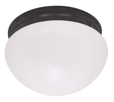 Nuvo Lighting 60/2645 1 Light 10 Inch Medium White Mushroom