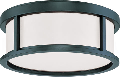 Nuvo Lighting 60/2981 Odeon 2 Light 13 Inch Flush Dome with Satin White Glass