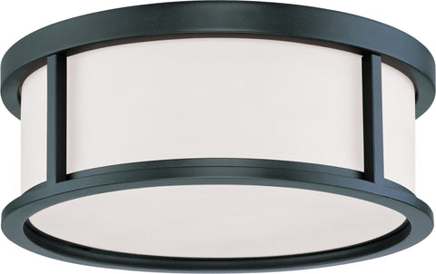 Nuvo Lighting 60/2982 Odeon 3 Light 15 Inch Flush Dome with Satin White Glass