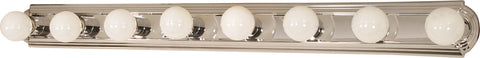 Nuvo Lighting 60/299 8 Light 48 Inch Vanity Racetrack Style