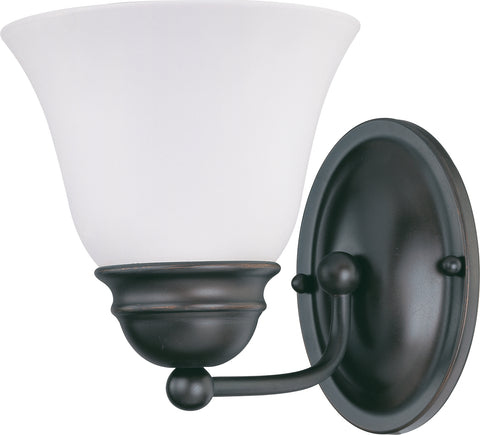 Nuvo Lighting 60/3165 Empire 1 Light 7 Inch Vanity with Frosted White Glass
