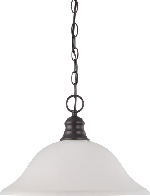 Nuvo Lighting 60/3173 1 Light 16 Inch Pendant with Frosted White Glass