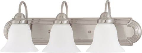 Nuvo Lighting 60/3279 Ballerina 3 Light 24 Inch Vanity with Frosted White Glass