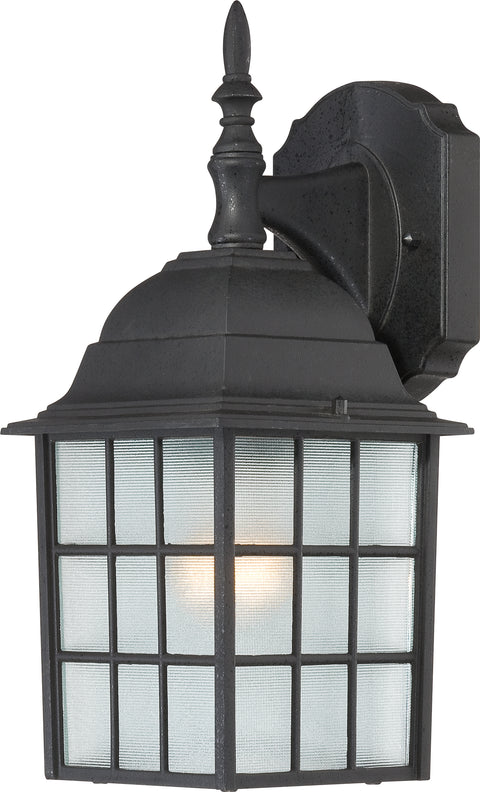 Nuvo Lighting 60/4906 Adams 1 Light 14 Inch Outdoor Wall Mount Sconce with Frosted Glass