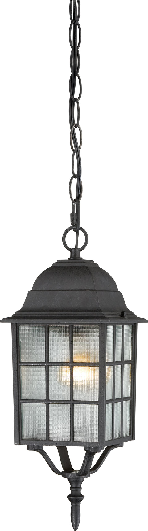 Nuvo Lighting 60/4913 Adams 1 Light 16 Inch Outdoor Hanging with Frosted Glass