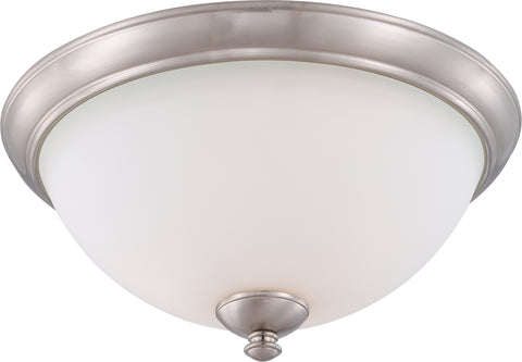 Nuvo Lighting 60/5041 Patton 3 Light Flush Fixture with Frosted Glass