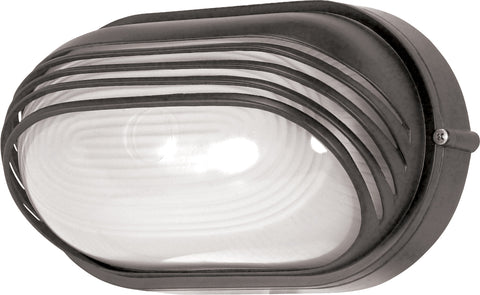 Nuvo Lighting 60/523 1 Light 10 Inch Oval Hood Bulk Head Die Cast Bulk Head