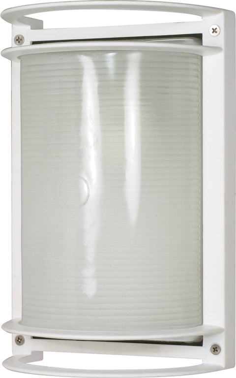 Nuvo Lighting 60/530 1 Light 10 Inch Rectangle Bulk Head Die Cast Bulk Head