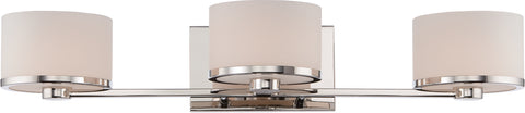 Nuvo Lighting 60/5473 Celine 3 Light Vanity Fixture with Etched Opal Glass