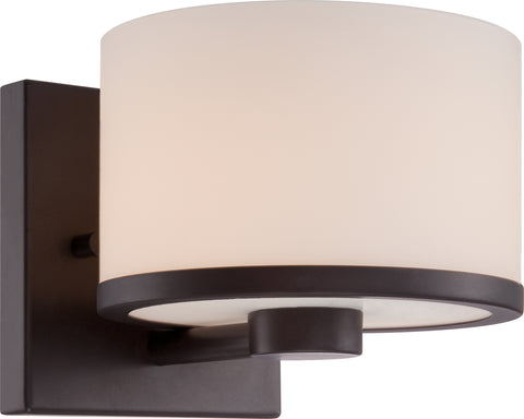 Nuvo Lighting 60/5571 Celine 1 Light Vanity Fixture with Etched Opal Glass
