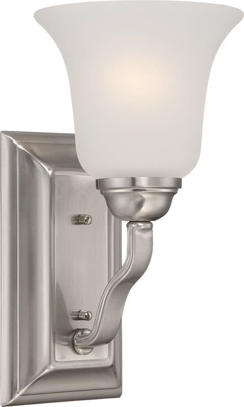 Nuvo Lighting 60/5591 Elizabeth 1 Light Vanity Fixture with Frosted Glass