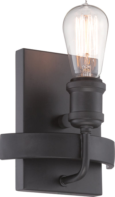 Nuvo Lighting 60/5721 Paxton 1 Light Wall Mount Sconce Sconce Includes 40W A19 Vintage Lamp