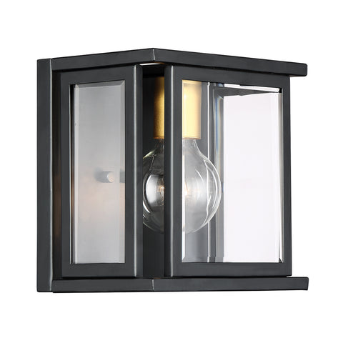 Nuvo Lighting 60/6411 Payne 1 Light Wall Mount Sconce Sconce with Clear Beveled Glass