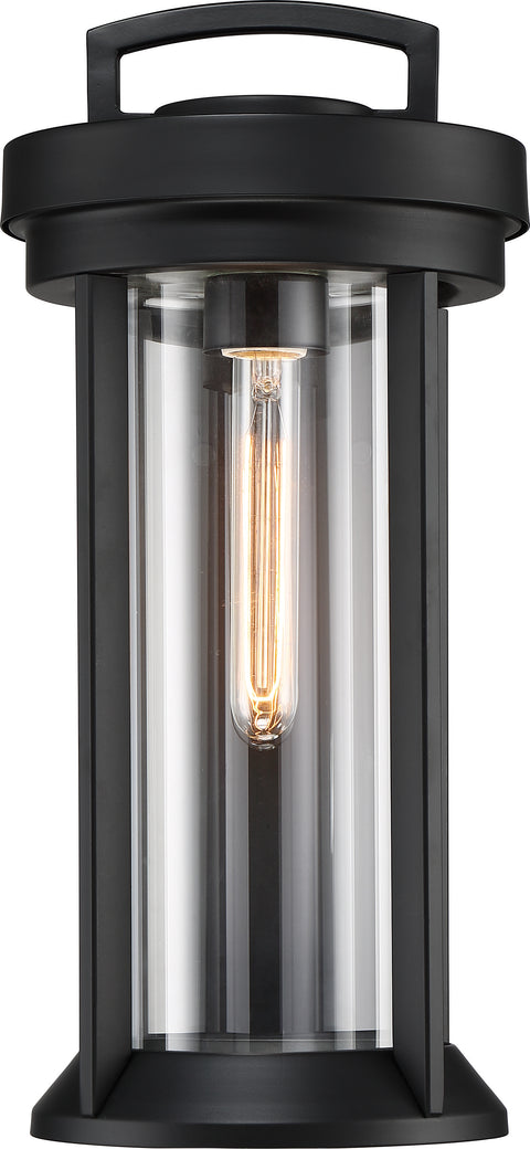 Nuvo Lighting 60/6501 Huron 1 Light Medium Lantern Aged Bronze Finish with Clear Glass