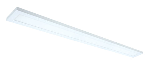 Nuvo Lighting 62/1057 40W 5 Inch x 48 Inch Surface Mount LED Fixture 3000K 90 CRI Low Profile White Finish 120/277V
