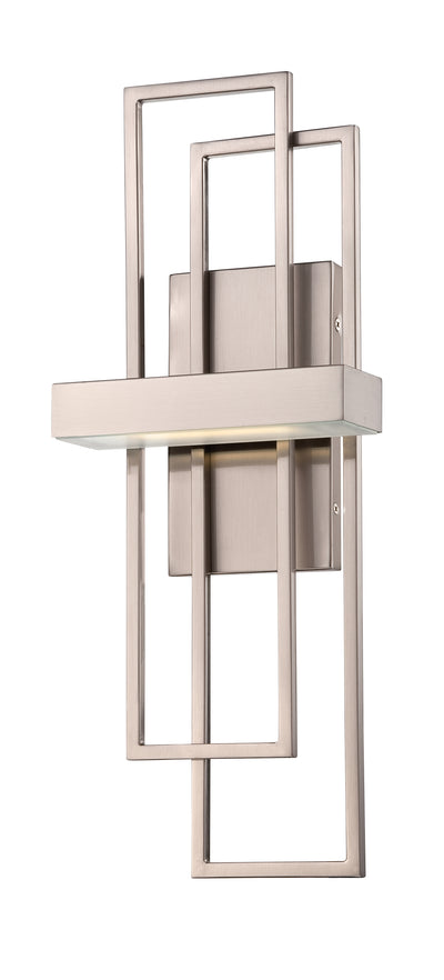 Nuvo Lighting 62/105 Frame LED Wall Mount Sconce Sconce with Frosted Glass