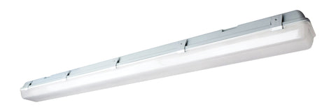 Nuvo Lighting 62/1061 LED Vapor Proof Surface Mount 29W 4000K White/Gray Finish 100 277V