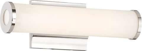 Nuvo Lighting 62/1131 Saber LED 12 Inch Vanity Fixture Polished Nickel Finish