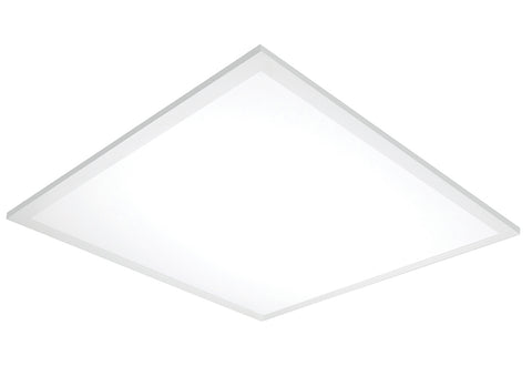 Nuvo Lighting 62/1153 45W 24 Inch x 24 Inch Surface Mount LED Fixture 5000K 80 CRI Low Profile White Finish 120/277V