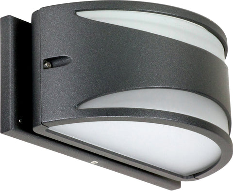 Nuvo Lighting 62/1221 Genova LED Wall Mount Sconce Sconce Anthracite Finish