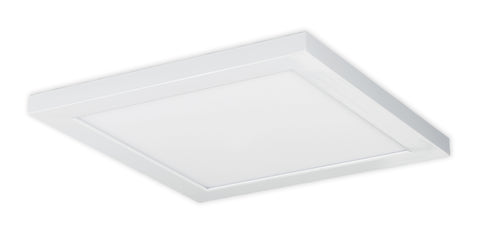Nuvo Lighting 62/1251 18W 12 Inch x 12 Inch Surface Mount LED Fixture 4000K 90 CRI Low Profile White Finish 120/277V