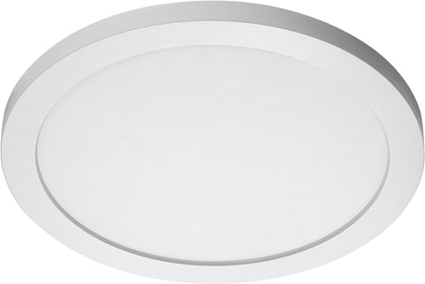 Nuvo Lighting 62/1291 26W 15 Inch Flush Mount LED Fixture 4000K Round Shape White Finish 120/277V