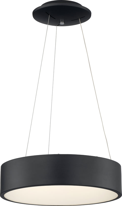 Nuvo Lighting 62/1458 Orbit 30W LED Pendant Black Finish