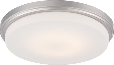 Nuvo Lighting 62/609 Dale LED Flush Fixture with Opal Frosted Glass