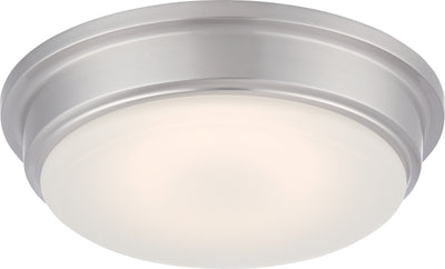 Nuvo Lighting 62/611 Haley LED Flush Fixture with Frosted Glass