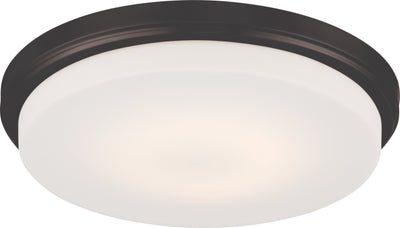 Nuvo Lighting 62/709 Dale LED Flush Fixture with Opal Frosted Glass