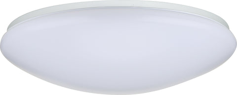 Nuvo Lighting 62/765 19 Inch Flush Mounted LED Light Fixture White Finish 120V