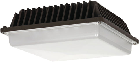 Nuvo Lighting 65/074R1 LED Canopy Fixture 58W Bronze Finish 120 277V