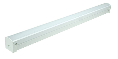 Nuvo Lighting 65/1103 LED 2 ft. Connectable Strip 24W 4000K White Finish 120V