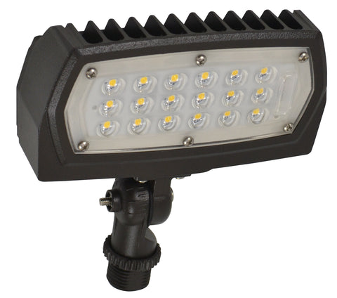 Nuvo Lighting 65/127 LED Flood Light 12W 3000K 1475 Lumens Adjustable Neck