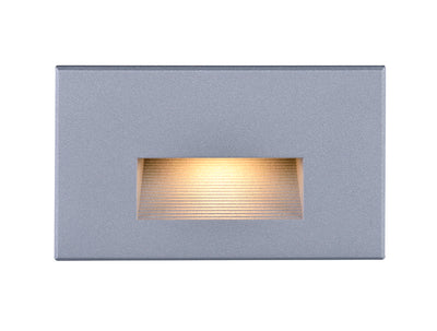 Nuvo Lighting 65/411 LED Horizontal Step Light 5W Gray Finish 120V