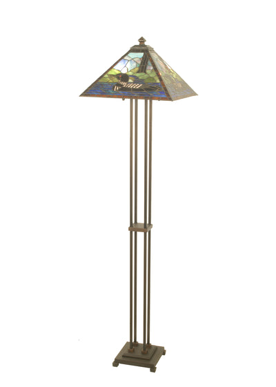 "Meyda Lighting 69274 63""H Loon Floor Lamp"
