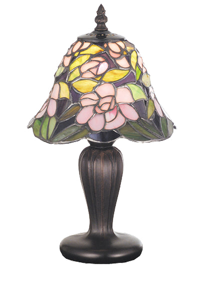 "Meyda Lighting 70250 13""H Begonia Mini Lamp"