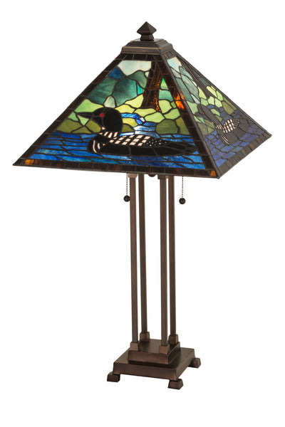 "Meyda Lighting 81055 30""H Loon Table Lamp"