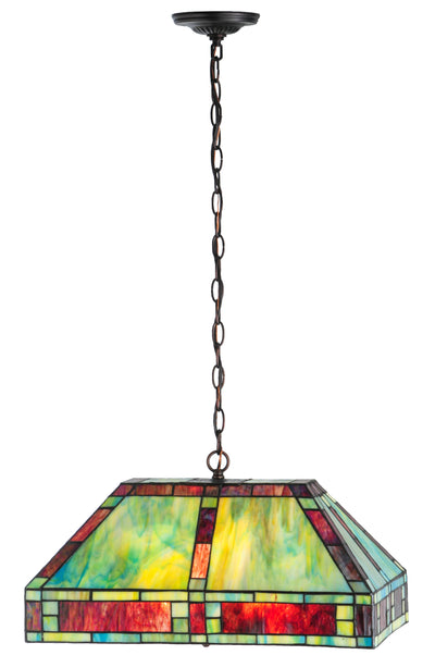 "Meyda Lighting 82832 20""L Chaves Oblong Pendant"