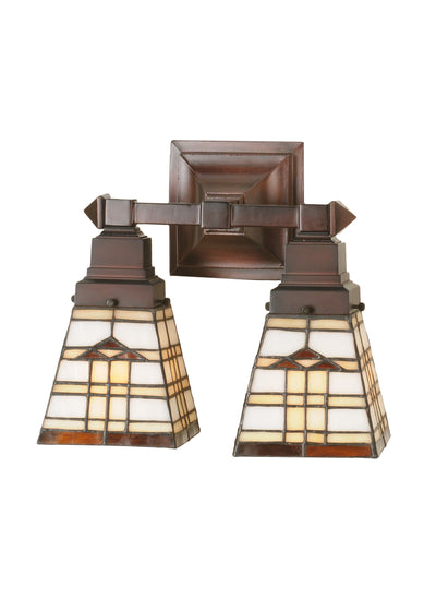 "Meyda Lighting 98200 12""W Arrowhead Mission 2 LT Wall Sconce"